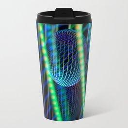Behind the light glass ball Travel Mug