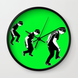 Shane Walk Wall Clock
