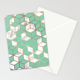 Marble & Geometry 009 Stationery Cards