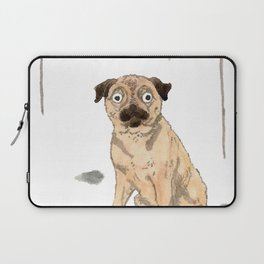 Pug with balloons Laptop Sleeve