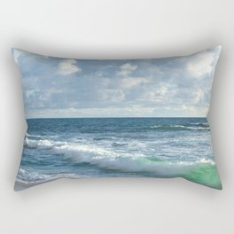 Sea Green Rectangular Pillow