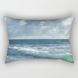 Sea Green Rectangular Pillow