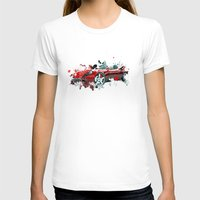 cars T-shirts featuring cars  by mark ashkenazi