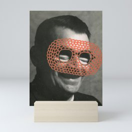 The Crochet Family 004 Mini Art Print