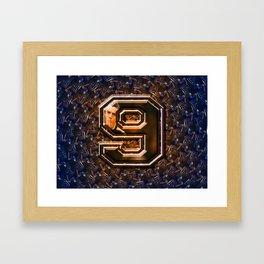 sport pattern Framed Art Print