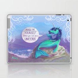 Unicorn Siren Laptop & iPad Skin
