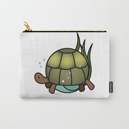 Turtle in a Circle Carry-All Pouch