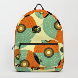 Turntables (Red) Backpack