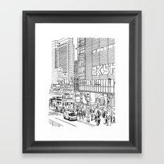 Tokyo - Shinjyuku Framed Art Print