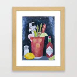 Best Bloody in the Universe Framed Art Print