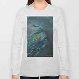 Blue Betta Long Sleeve T-shirt