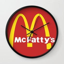 McFatty's Wall Clock