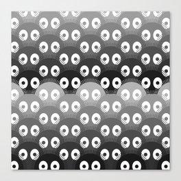 susuwatari pattern Canvas Print