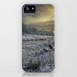 Frosty Meadow iPhone Case