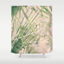 Green dreams Shower Curtain