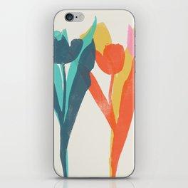 tulips 2 h iPhone Skin