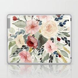 Loose Watercolor Bouquet Laptop & iPad Skin