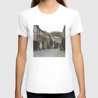 edinburgh T-shirts featuring Edinburgh street by RMK Photography