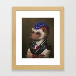 The Hedgehog Framed Art Print