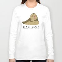 dad Long Sleeve T-shirts featuring dad bod by Louis Roskosch