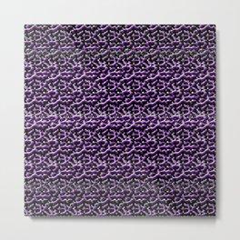 Purple Metal Metal Print