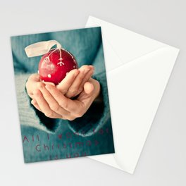 Al I want for Christmas... Stationery Cards