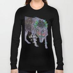 Journeying Spirit (wolf) Long Sleeve T-shirt