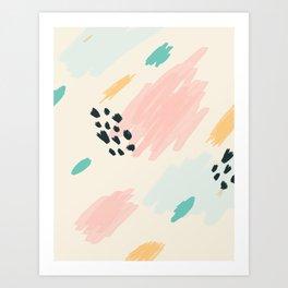 Flutter No. 1 Art Print
