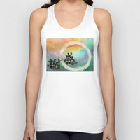thanksgiving Tank Tops featuring Thanksgiving by Wakoshi