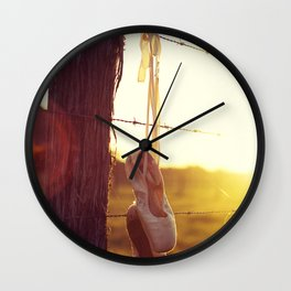 Country Ballet Wall Clock