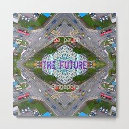FUTURE  Metal Print