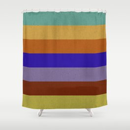 Orion Colors Shower Curtain