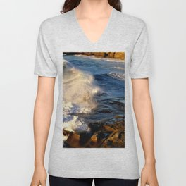 CALIFORNIA COAST Unisex V-Neck