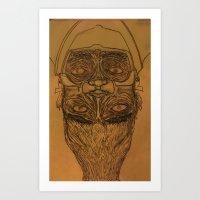 Diafaciem Art Print