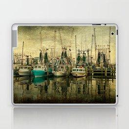 Shrimp Boat Lineup Laptop & iPad Skin