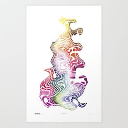 Imagine #017 Art Print
