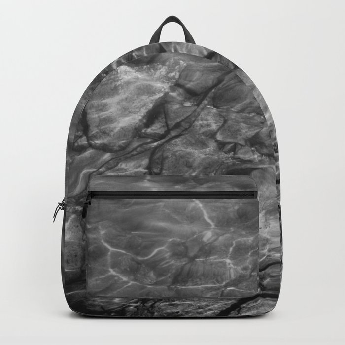 Under Water (Black and White) Backpack