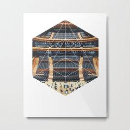 Orchestra - Geometric Photoraphy Metal Print