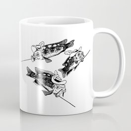 Three fish Musketeers Coffee Mug