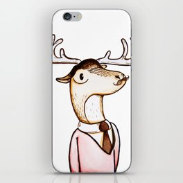Professor Caribou iPhone Skin