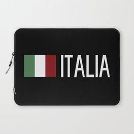 Italy: Italia & Italian Flag Laptop Sleeve