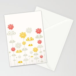 I heart flowers Stationery Cards
