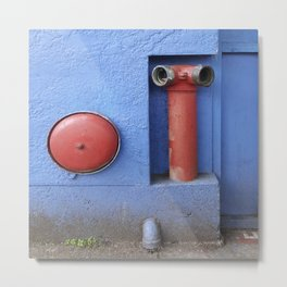 In Case of Fire Metal Print