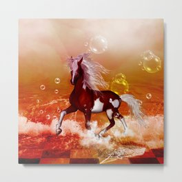 Beautiful horse Metal Print