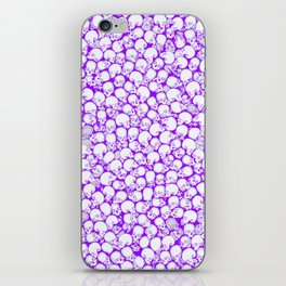 Gothic Crowd ULTRA VIOLET iPhone Skin