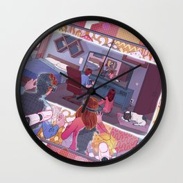 Virtual simulation Wall Clock