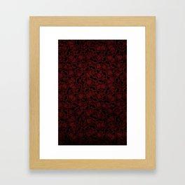 Skully all the Way  Framed Art Print