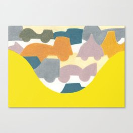 The Busy Street Canvas Print