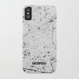 Speckle Marble Print iPhone Case