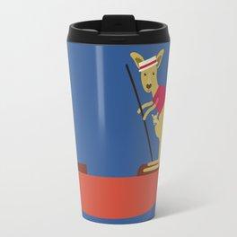 Kangaroo on Gondola Travel Mug